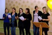 Les stagiaires de l'Institut universitaire de formation des maîtres prennent part au gala organisé par le Centre de ressources en français