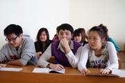 Estudiantes extranjeros en la USPEV