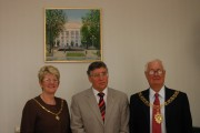 VSSPU Rector Dr. Sergeev with the Mayor of Coventry and his wife