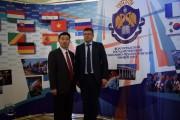 Ректор ВГСПУ А.М. Коротков и ректор Тяньцзиньского университета Чэнь Фачунь