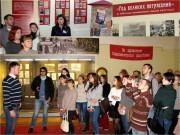 Студенты ВГСПУ стали участниками открытия выставки  к 100-летию революционных событий 1917 г.