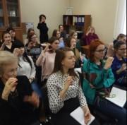 В ВГСПУ прошел мастер-класс профессора Александра Суворова «Альтернативная коммуникация»
