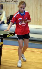 В ВГСПУ тренируется победительница соревнований «ТОП-16»