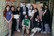 Студенты ВГСПУ поучаствовали в донорской акции к 90-летнему юбилею вуза