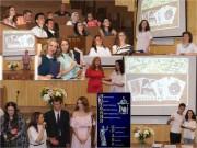 Вручение дипломов на факультете исторического и правового образования