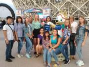 Студенты ВГСПУ приняли участие в торжественном мероприятии по итогам проведения в регионе матчей Чемпионата мира