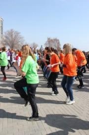 Марафонцы приняли участие во Всемирном дне здоровья