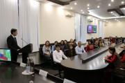 Консул Туркменистана Атадурды Байрамов побывал в ВГСПУ с ответным визитом