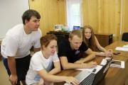 Участники спортивной смены готовят документацию необходимую для организации и проведения спортивного мероприятия