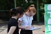 В ВГСПУ состоялись соревнования по спортивному ориентированию среди студентов и преподавателей ВГСПУ