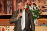 Н.А. Болотов поздравляет факультет истории и права с юбилеем
