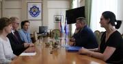 Ректор ВГСПУ Александр Коротков провел встречу с представителями государственного музея Польши «Аушвиц-Биркенау»