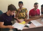 Выпускники техникума кадровых ресурсов заполняют анкеты образовательных потребностей абитуриентов с ограниченными возможностями здоровья