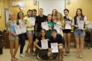 Участники летней спортивной смены ВГСПУ