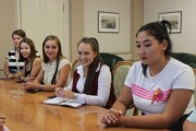 Ректор ВГСПУ и студенты обсудили перспективы участия молодежи в жизни вуза