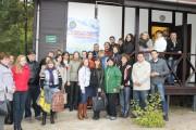 Участники конференции в учебно-оздоровительном комплексе университета