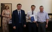 Состоялось вручение дипломов  выпускникам аспирантуры ВГСПУ 2017 г.