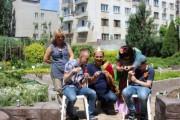 В ботаническом саду ВГСПУ особенные дети изучают мир