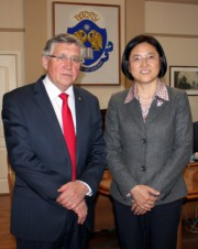 Делегация Чанчуньского университета (КНР) с официальным визитом в ВГСПУ