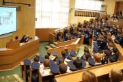 Встреча с выпускниками мужского педагогического лицея