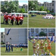Футбольное поле  ВГСПУ европейского уровня готово к приему самых серьезных спортивных соревнований!