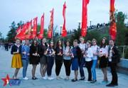 Студенты ВГСПУ приняли участие в памятной акции «Пламя Победы»