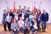 Делегация студентов ВГСПУ