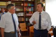 Визит заместителя Министра образования и науки Российской Федерации Каганова В. Ш. в Волгоградскую область