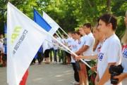 Патриотический митинг в память о начале Сталинградской битвы