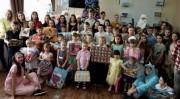 Новогодние акции студентов ВГСПУ