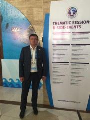 Делегация ВГСПУ принимает участие в Первом Каспийском экономическом форуме