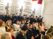 Студенты и преподаватели ВГСПУ приняли участие в мероприятии проекта «Война на холсте - как память поколений»