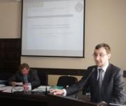 Выступает заместитель декана факультета истории и права , доцент И.Л. Гаврилюк