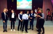 Студенты Института иностранных языков ВГСПУ провели праздник итальянского языка и культуры в лицее №5