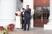 В Волгоградском государственном социально-педагогическом университете состоялась торжественная линейка для первокурсников