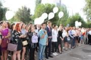 Первокурсники ВГСПУ почтили минутой молчания погибших в Беслане
