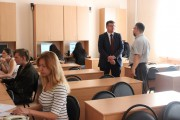 Ректор ВГСПУ ознакомился с работой ситуационного центра