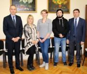 В ВГСПУ прошли стажировку французские студенты