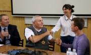 Студенты ВГСПУ встретились с известным профессором московского вуза