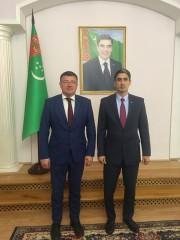 Ректор ВГСПУ Александр Коротков и консул Туркменистана Атадурды Байрамов обсудили перспективы сотрудничества