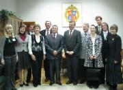 Участники российско-германской встречи