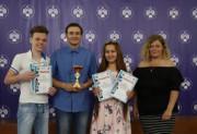 Лучшим спортсменам ВГСПУ вручили награды