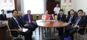 В рамках официального визита в Волгоград  ВГСПУ посетила делегация из Китая