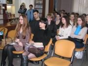 На встрече со студентами и преподавателями