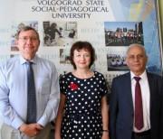 В ВГСПУ  с неофициальным визитом  побывал пресс-секретарь Бакинского славянского университета
