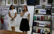 Научно-педагогическая библиотека ВГСПУ провела акцию «Всем хорошим во мне я обязан книгам»