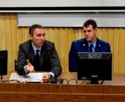 В ВГСПУ прошла встреча студентов с представителями прокуратуры и полиции по вопросам профилактики и противодействия коррупции