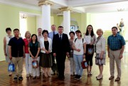 Ректор ВГСПУ провел встречу с иностранными преподавателями и стажерами