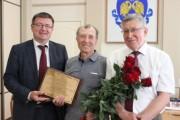 Председатель совета ветеранов ВГСПУ отмечает 85-летний юбилей