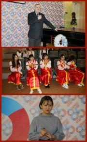 Студенты факультета по обучению иностранных граждан  продемонстрировали свои фонетические умения и навыки